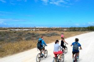 Algarve-fiets toer Ria Formosa